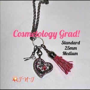 Jewelry - Cosmetology Standard Living Story Locket